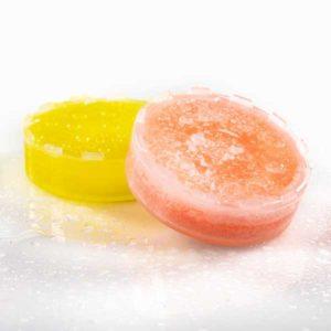 arômes rose et citron pour pommeau de douche filtrant